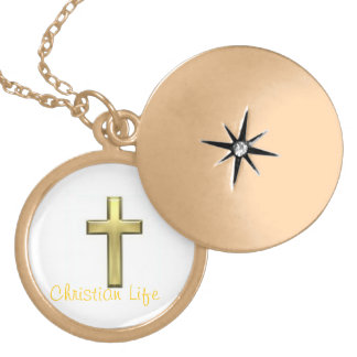 Christian Life Lockette/Necklaces Gold Plated Necklace