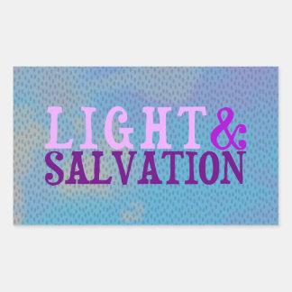 Christian LIGHT AND SALVATION Sticker