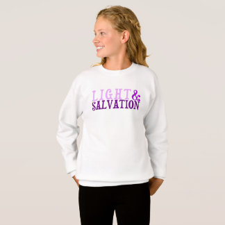 Christian LIGHT AND SALVATION Sweatshirt