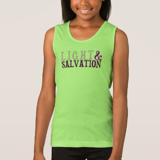 Christian LIGHT AND SALVATION Tank Top