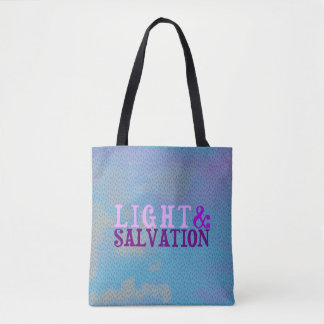 Christian LIGHT AND SALVATION Tote Bag