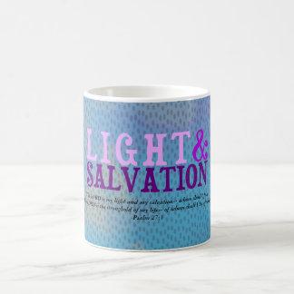 Christian LIGHT AND SALVATION w/Scripture Coffee Mug
