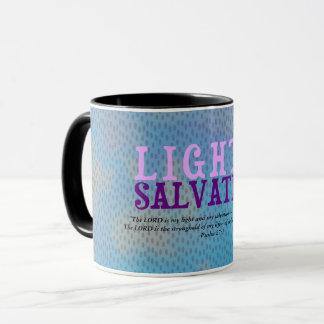 Christian LIGHT AND SALVATION w/Scripture Mug