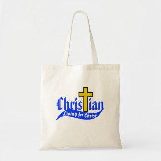 Christian Living for Christ Tote Bag