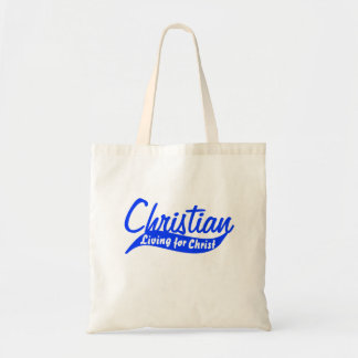 Christian: Living for Christ Canvas Bags