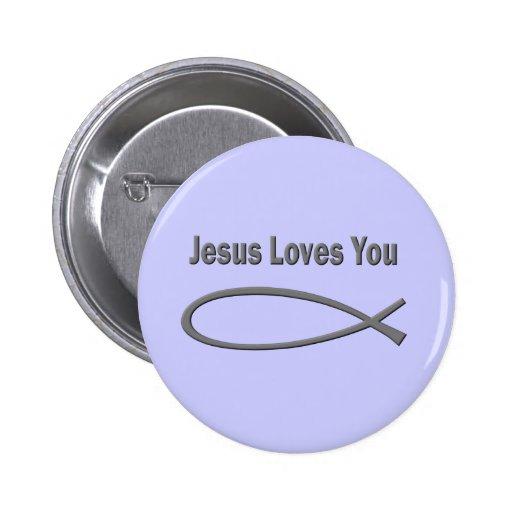 Christian Love Button