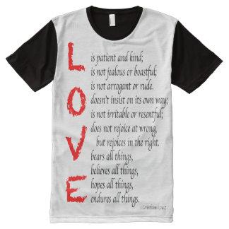 Christian LOVE Verses - Blood of Christ, Men's