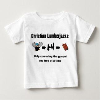 Christian Lumberjack Baby T-Shirt