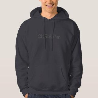 CHRISTian-Men's hooded sweatshirt