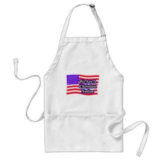 christian nation standard apron