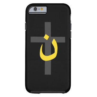 Christian Nazarene Symbol Solidarity Cross Decor Tough iPhone 6 Case