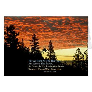 Christian Notecards Bible Verse Creationarts Card