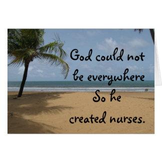 Christian Nurse Greeting Card
