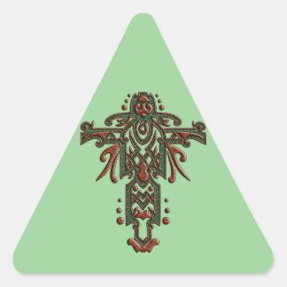 Christian Ornate Cross 13 Stickers