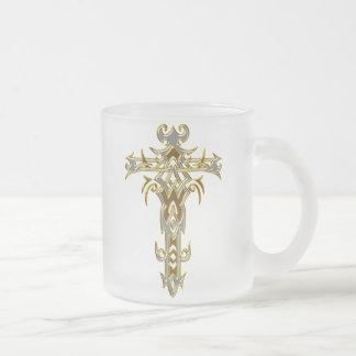 Christian Ornate Cross 46 Coffee Mugs