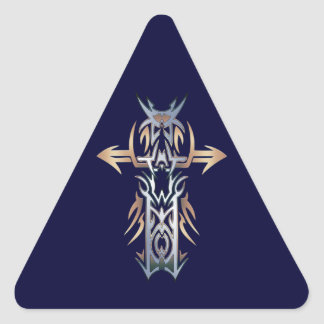 Christian Ornate Cross 52 Stickers
