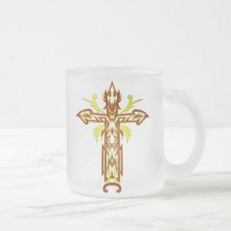 Christian Ornate Cross 63 Mugs
