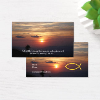 Christian | Pastor | Priest Business Card