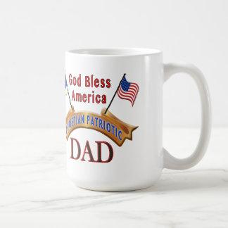 Christian Patriotic Coffe Mugs for Dade