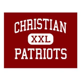 Christian - Patriots - Senior - El Cajon Postcard