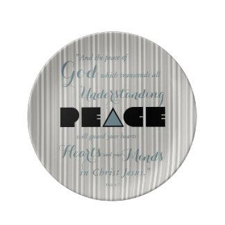 Christian Peace of God Plate