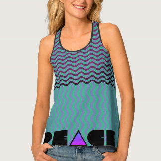 Christian Peace of God with Scripture Tank Top