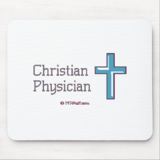 Christian Physician Cross Mouse Pad