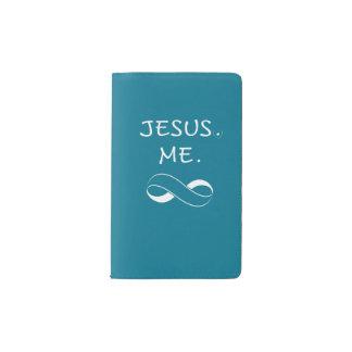 Christian Pocket Journal Jesus Me Infinity