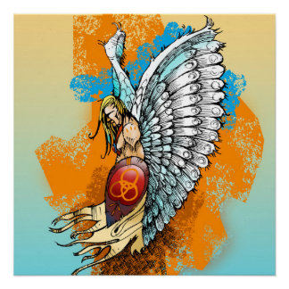 Christian Poster: Warrior Angel Perfect Poster
