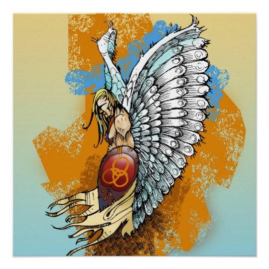 Christian Poster: Warrior Angel Poster