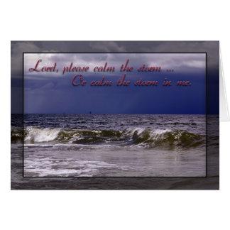 Christian Prayer Greeting Card