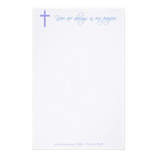 Christian Prayer Stationery