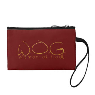 Christian Prophetic Gold WOMAN OF GOD Coin Purse