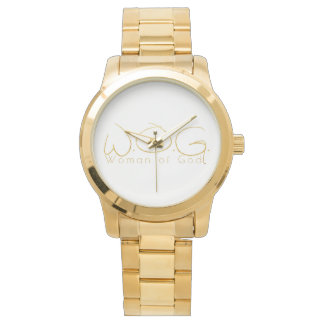 Christian Prophetic Gold WOMAN OF GOD Watch