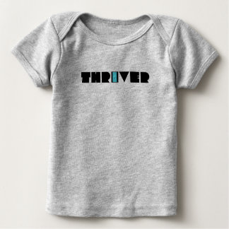 Christian Prophetic Spiritual Warfare THRIVER Baby T-Shirt