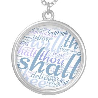 Christian PSALM 91 Necklace