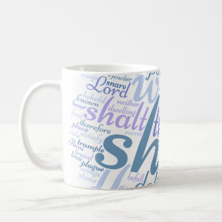 Christian PSALM 91 White Mug