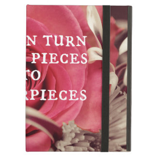 Christian Quote God Can Turn Broken Pieces iPad Air Case