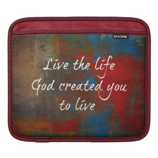 Christian Quote Sleeves For iPads