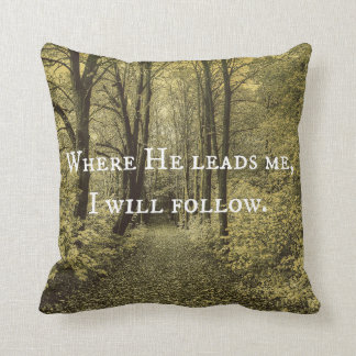 Christian Quote Pillow