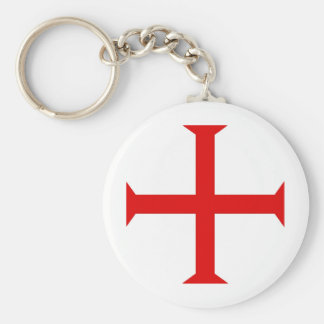 Christian Red Cross Keychains