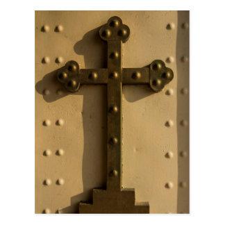 Christian religious cross, Iraq Postcard
