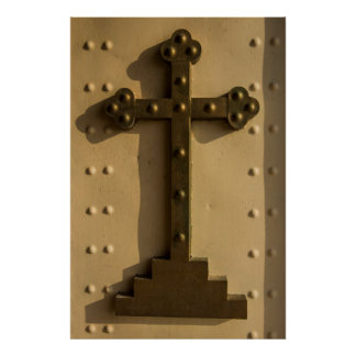 Christian religious cross, Iraq Poster