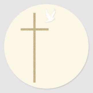 Christian Religious Cross Sticker