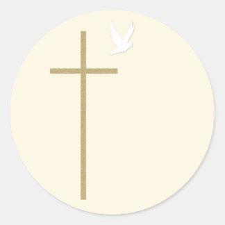 Christian Religious Cross Sticker