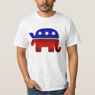 Christian Republican Elephant Fish T-Shirt