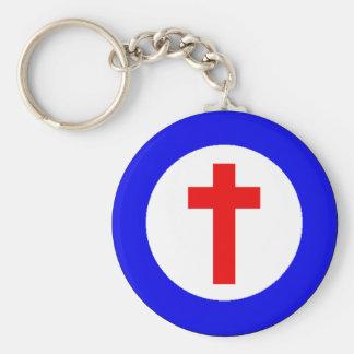 Christian Roundel Keychain