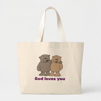Christian Saying Tote Bag