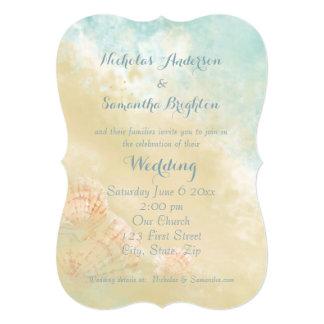 Christian Scripture Beach Seashell Destination Card