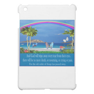 Christian Scripture gifts rainbow art iPad Mini Case